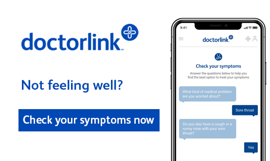 doctorlink  Not feeling well? Check your symptoms now